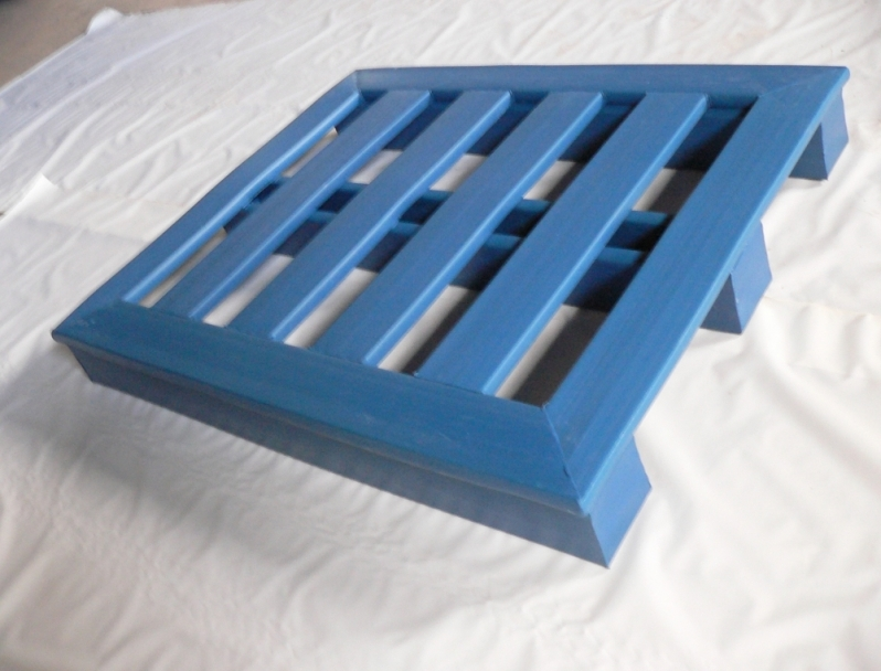 Palete de Plástico Industrial Quatro Barras - Palete de Plástico Grande