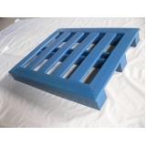 palete de plástico 1 10 x 1 10 Cerro Azul