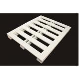 pallet de plástico branco Taboão da Serra